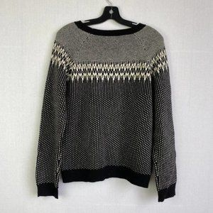 J.CREW Wool-blended Pattern Sweater